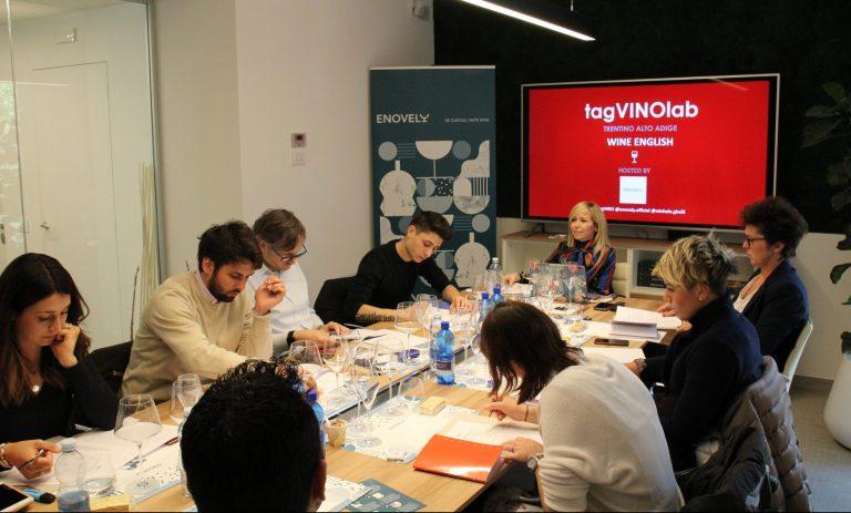 La prima edizione di TagVINOlab a Trento